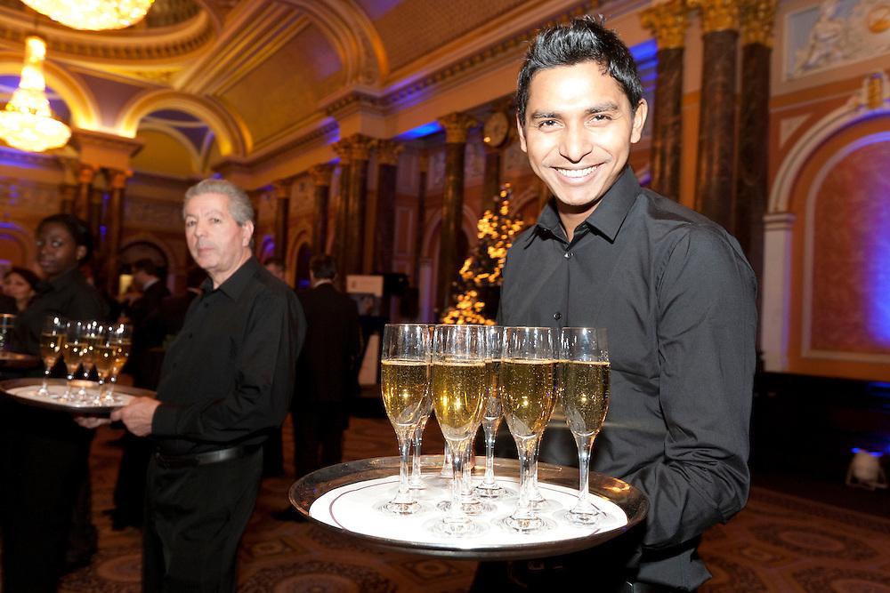 © Joel Chant RBC Wealth Management annual festive reception at Gibson Hall, Bishopsgate, London.