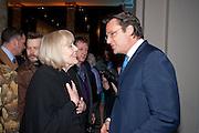 DAME DIANA RIGG; ERIC DEARDORFF CEO GARRARD, Cecil Beaton private view. V and A Museum. London. 6 February 2012