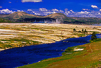 Midway Geyser Basin, Yellowstone National Park, Wyoming USA