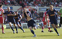 Photo: Jonathan Butler.<br /> Swindon Town v Walsall. Coca Cola League 2. 05/05/2007.<br /> Dean Keates of Walsall celebrates after scoring.