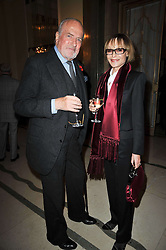 CLAUS VON BULOW and LADY VICTORIA GETTY at a party to celebrate the publiction of 'No Invitation Required' by Annabel Goldsmith, held at Claridge's, Brook Street, London on 11th November 2009.