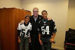 Philadelphia Eagles vs Green Bay Packers; Insider Event with Trotter and Reese & Hall of Fame Jacket Ceremony