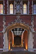 jesus college cambridge. shot for BGS Architects.