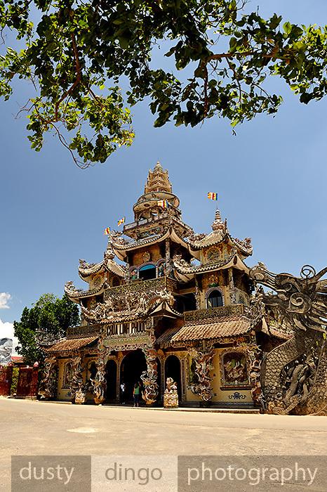 Linh Phuong pagoda, Trai Mat, Vietnam