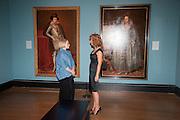KAREN HEARN; DEBRA WEISS, Mark Weiss dinner, Nationaal Portrait Gallery. London. 15 October 2012.