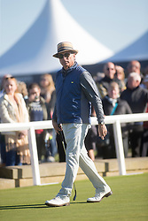Andy Garcia. Alfred Dunhill Links Championship this morning at St Andrews.