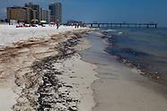BP Oil on Orange Beach Alabama