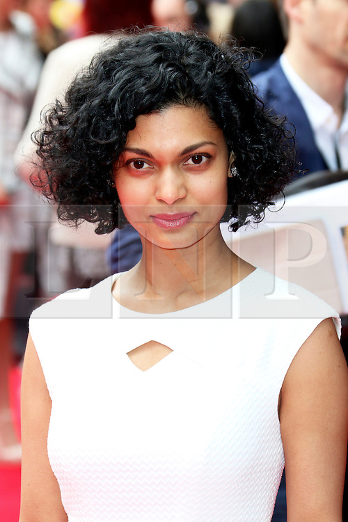 © Licensed to London News Pictures. 11/05/2014, UK. Sandra Teles, Postman Pat: The Movie - World Film Premiere, Odeon West End Leicester Square, London UK, 11 May 2014,. Photo credit : Richard Goldschmidt/Piqtured/LNP