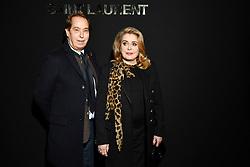 Catherine Deneuve attends the Saint Laurent show as part of the Paris Fashion Week Womenswear Fall/Winter 2019/2020 on February 26, 2019 in Paris, France. Photo by Laurent Zabulon/ABACAPRESS.COM