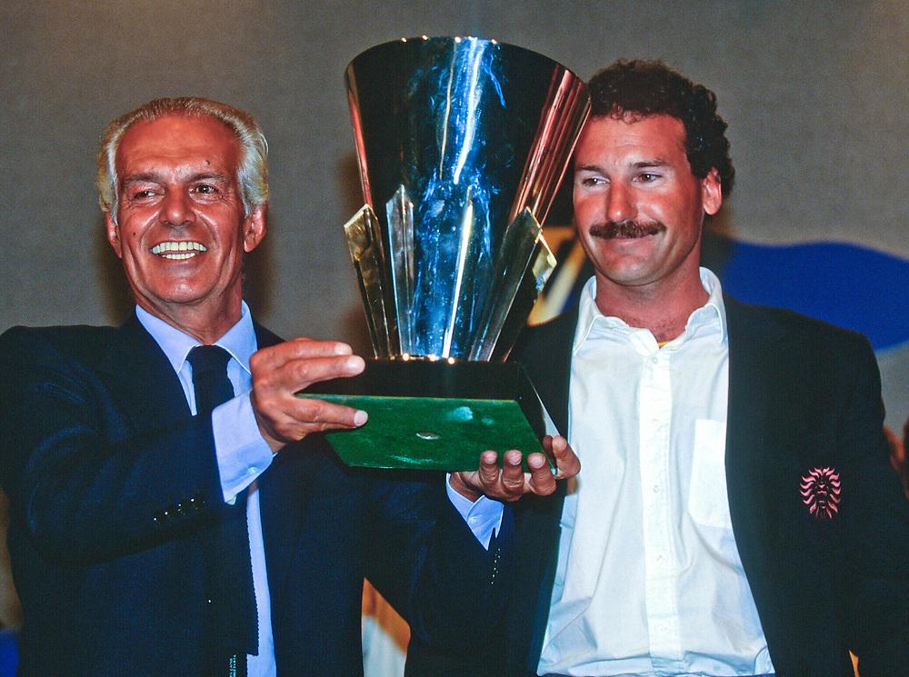 1992 Raoul Gardini and Paul Cayard