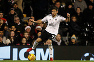 Rui Fonte of Fulham in action. EFL Skybet championship match, Fulham v Barnsley at Craven Cottage in London on Saturday 23rd December 2017<br /> pic by Steffan Bowen, Andrew Orchard sports photography.