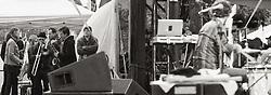 Broken Social Scene perform at The Treasure Island Music Festival 2010
