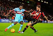 Bournemouth v West Ham United 120116