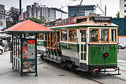 City tour trolly, Christchurch, Canterbury, South Island, New Zealand