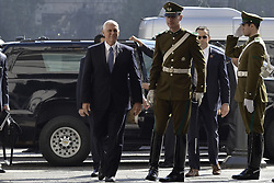 August 16, 2017 - Santiago, SANTIAGO CAPITAL DE CHILE, CHILE - Santiago Chile August 16, 2017. Vice President Mike Pence visits Chile as part of a tour of Central and South America on behalf of President Donald Trump between August 13 and 18. Your trip includes visits to Colombia, Argentina and Panama..Ê In Santiago, the Vice President will meet with President Michelle Bachelet, Foreign Minister Heraldo Mu–oz, and other government officials to reaffirm President Trump's commitment to deepening the solid and extensive bilateral relations of the United States and Chile. Santiago Chile August 16, 2017. LUISVARGAS / ZUMAPRESS  (Credit Image: © Luis Vargas via ZUMA Wire)