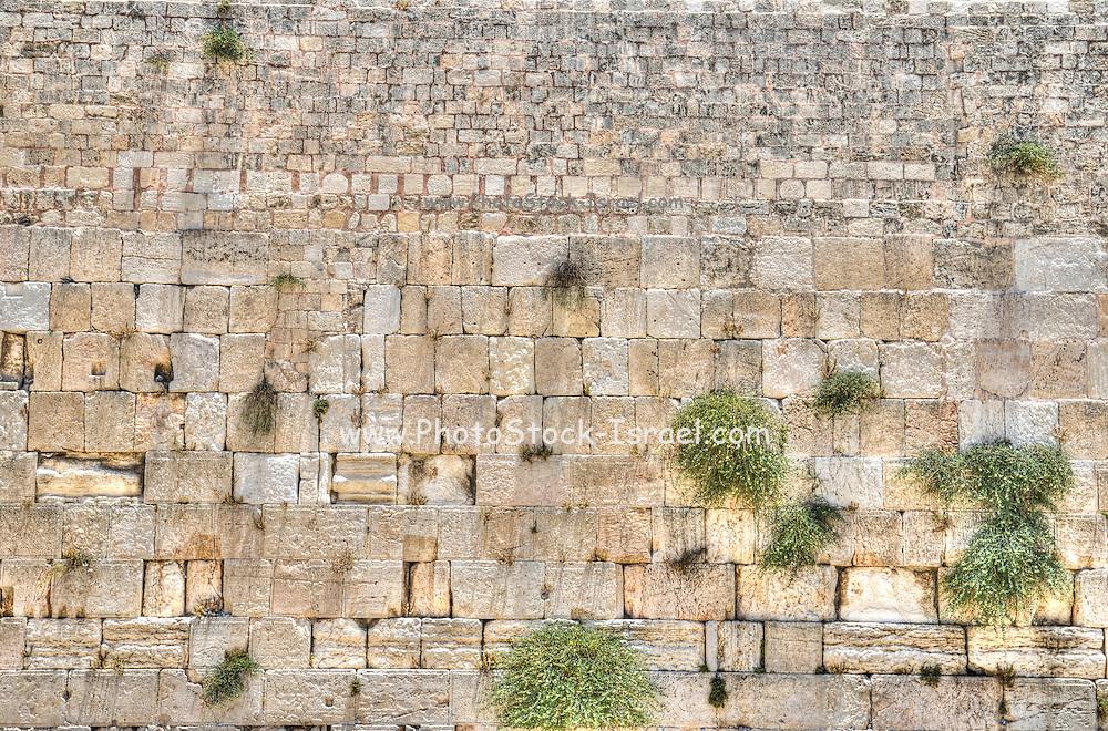 The Western Wall, Jerusalem Old City, Israel