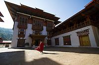 Punakha Dzong Monastery fortress, Punakha Valley, Bhutan