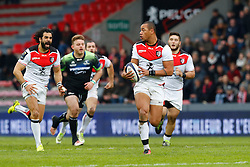 RUGBY - CHAMPIONS CUP - 2017<br /> fickou (gael)<br /> huget (yoann)