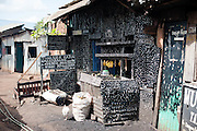 Artistic shop in Kibera slum, Nairobi