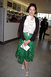 JASMINE GUINNESS at a reception hosted by Vogue magazine to launch photographer Tim Walker's book 'Pictures' sponsored by Nude, held at The Design Museum, Shad Thames, London SE1 on 8th May 2008.<br /><br />NON EXCLUSIVE - WORLD RIGHTS