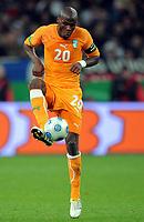 Fotball<br /> Tyskland v Elfenbenskysten<br /> Foto: Witters/Digitalsport<br /> NORWAY ONLY<br /> <br /> 18.11.2009<br /> <br /> Guy Demel<br /> Fussball Elfenbeinkueste<br /> Fussball Testspiel Deutschland - Elfenbeinkueste 2:2