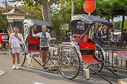 Kyoto, Japan Rickshaw