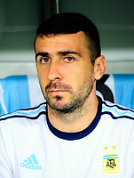 Conmebol - World Cup Fifa Russia 2018 Qualifier / <br /> Argentina National Team - Preview Set - <br /> Lucas David Pratto
