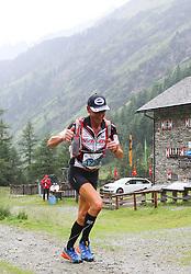 25.07.2015, Dorfertal, Kals, AUT, Grossglockner Ultra Trail, 50 km Berglauf, im Bild Engelbert Rogl  (AUT, Fusch/Kals 8. Platz bei Rudolfshütte) // Engelbert Rogl of Austria during the Grossglockner Ultra Trail  50 km Trail Run from Kals arround the Grossglockner to Kaprun. Kals, Austria on 2015/07/25. EXPA Pictures © 2015, PhotoCredit: EXPA/ Stringer