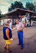 "Billy Carter meets tourists in front of his Plains, Georgia gas station. William Alton - Billy - Carter (March 29, 1937 – September 25, 1988) was an American farmer, businessman, brewer, and politician, and the younger brother of U.S. President Jimmy Carter. Carter promoted Billy Beer and was a candidate for mayor of Plains, Georgia. Carter was born in Plains, Georgia, to James Earl Carter Sr. and Lillian Gordy Carter. He was named after his paternal grandfather and great-grandfather, William Carter Sr. and William Archibald Carter Jr. respectively. He attended Emory University in Atlanta but did not complete a degree. He served four years in the United States Marine Corps, then returned to Plains to work with his brother in the family business of growing peanuts. In 1955, at the age of 18, he married Sybil Spires (b. 1939), also of Plains. They were the parents of six children: Kim, Jana, William ""Buddy"" Carter IV, Marle, Mandy, and Earl, who was 12 years old when his father died."