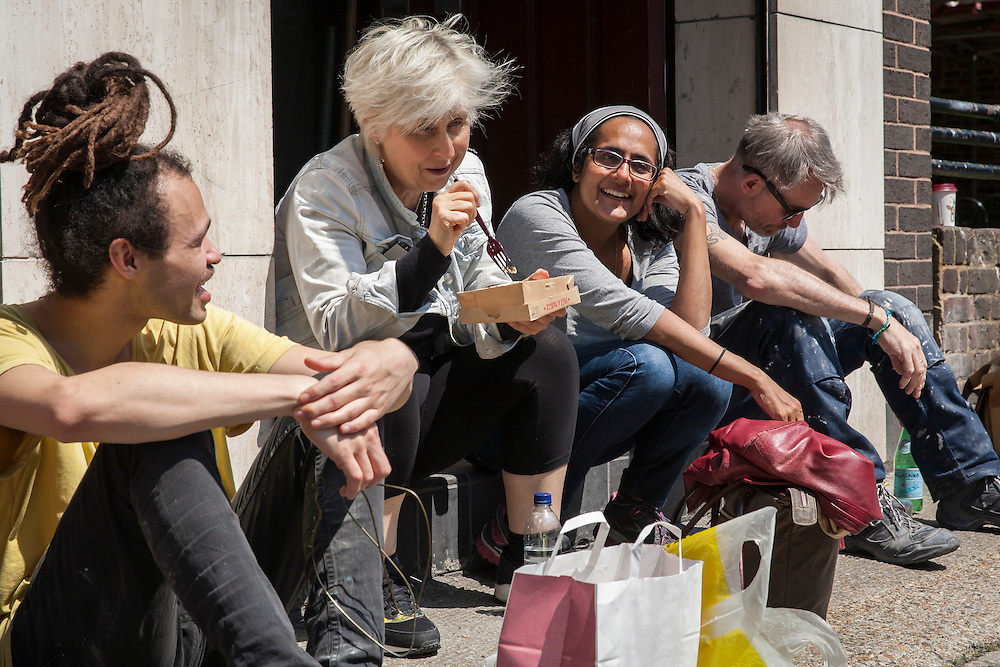 The Art Academy, Mermaid Court, 165A Borough High Street, London, England, on 9th June 2016