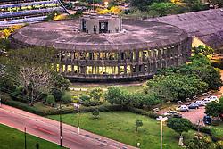 Vista aérea da sede da PROCERGS - Cia de Processamento de Dados do Estado do Rio Grande do Sul, em Porto Alegre. FOTO: Jefferson Bernardes/Preview.com