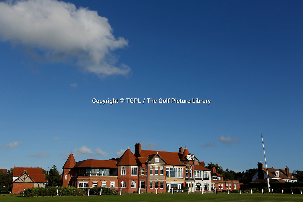 Royal Liverpool Golf Club, Hoylake,Wirral,England, during summer 2013,venue for the 2014 Open Championship.
