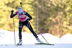 MAKARAINEN Kaisa of Finland during Women 7.5 km Sprint of the e.on IBU Biathlon World Cup on Thursday, March 6, 2014 in Pokljuka, Slovenia. The first e.on IBU World Cup stage is taking place in Rudno polje - Pokljuka, Slovenia until Sunday March 9, 2014. Photo by Matic Klansek Velej / Sportida