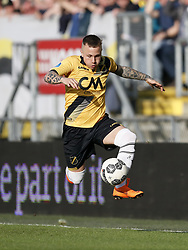 Jose Angelino of NAC Breda during the Dutch Eredivisie match between NAC Breda and Vitesse Arnhem at the Rat Verlegh stadium on April 07, 2018 in Breda, The Netherlands