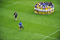 Franck AZEMA - Groupe Clermont - 18.04.2015 - Clermont / Saracens - 1/2Finale European Champions Cup<br />Photo : Jean Paul Thomas / Icon Sport