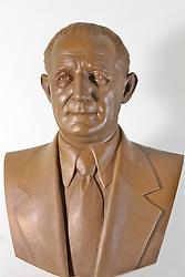 Busto foi feito para comemoração do centenário do Seu Francisco José Zaffari. FOTO: Jefferson Bernardes/Preview.com