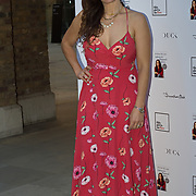 Christine Lampard attending the launch of Andrea McLean's new book Confessions of a Menopausal Woman at the Devonshire Club in London on June 26 2018..