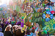 Krewe of Thoth Parade, Mardi Gras, New Orleans 2016