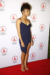 LOS ANGELES, CA - SEP 20: Doralys Britto attends The Latin GRAMMY Acoustic Sessions at The Novo Theater September 20, 2017, in Downtown Los Angeles. Byline, credit, TV usage, web usage or linkback must read SILVEXPHOTO.COM. Failure to byline correctly will incur double the agreed fee. Tel: +1 714 504 6870.