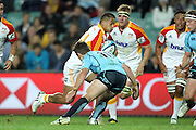 Augustine Pulu. Waratahs v Chiefs. 2013 Investec Super Rugby Season. Allianz Stadium, Sydney. Friday 19 April 2013. Photo: Clay Cross / photosport.co.nz
