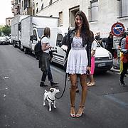 Terzo giorno della Settimana della Moda a Milano edizione 2013: alla sfilata di Sportmax<br /> <br /> Third day of Milan fashion week 2013 edition: at the Sportmax fashion show
