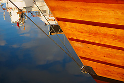 North America, United States, Washington, Port Townsend. The Northwest Maritime Center's Wooden Boat Festival, held annually in September.