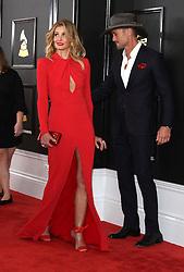 February 12, 2017 - Los Angeles, CA, United States - 12 February 2017 - Los Angeles, California - Tim McGraw, Faith Hill. 59th Annual GRAMMY Awards held at the Staples Center. Photo Credit: AdMedia (Credit Image: © AdMedia via ZUMA Wire)