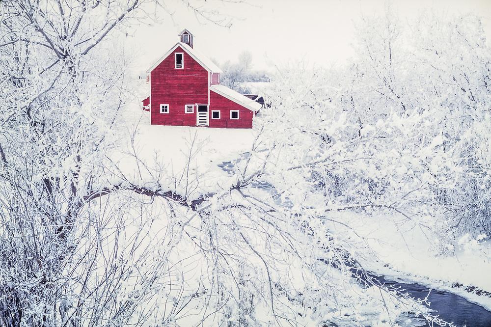 Barn in Kittitas County, Washington, USA