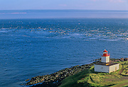 Cape d'Or Lighthouse on the Bay of Fundy<br /> Advocate Harbour<br /> Nova Scotia<br /> Canada