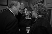 ANTHONY HOLDEN; ANNA STOTHARD; CRAIG RAINE, The launch of Fire Child by Sally Emerson. Hosted by Sally Emerson and Naim Attalah CBE. Dean St. London. 22 March 2017