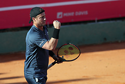 May 3, 2018 - Estoril, Portugal - Lleyton Hewitt of Australia in action during the Millennium Estoril Open ATP 250 tennis tournament, at the Clube de Tenis do Estoril in Estoril, Portugal on May 3, 2018. (Credit Image: © Pedro Fiuza/NurPhoto via ZUMA Press)