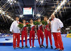 01-12-2012 TURNEN: WORLDCUP DTB POKAL: STUTTGART<br /> Team Meerkamp -  Japan<br /> ***NETHERLANDS ONLY***<br /> ©2012-FotoHoogendoorn.nl