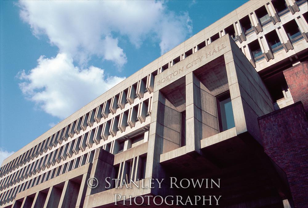 Boston, City Hall, Architectural Detail