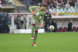 March 18, 2018 - Turin, Piedmont, Italy - Salvatore Sirigu (Torino FC) during the Serie A football match between Torino FC and ACF Fiorentina at Olympic Grande Torino Stadium on 18 March, 2018 in Turin, Italy. Final results: 1-2  (Credit Image: © Massimiliano Ferraro/NurPhoto via ZUMA Press)
